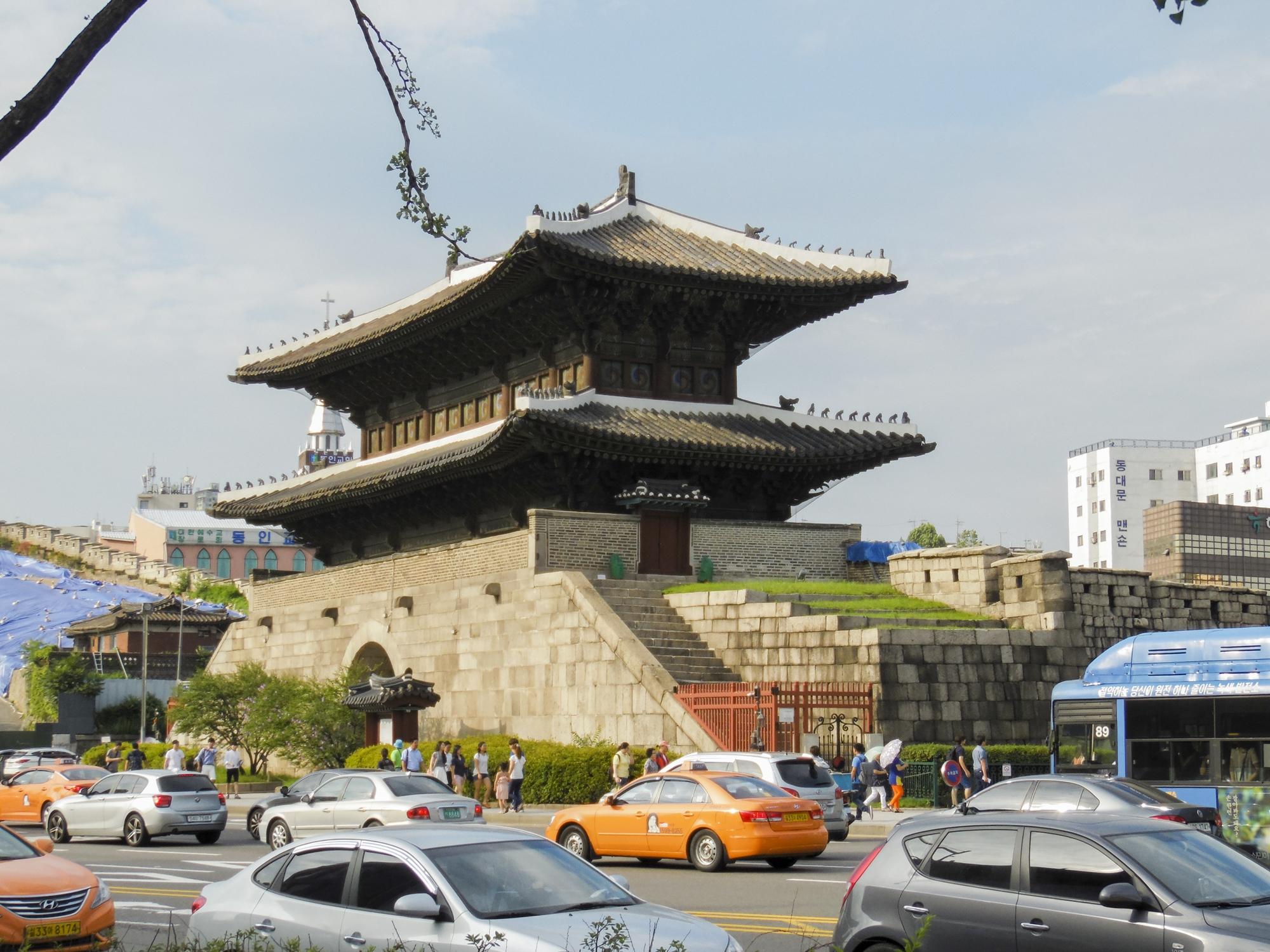 Straße am Dongdaemun