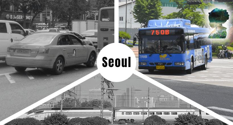 Bus fahren in Seoul