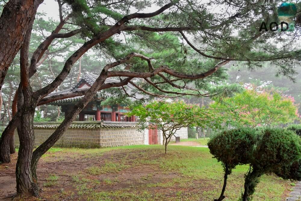 Grab von Kim Yu Sin - Gedenkstätte