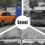 Mit dem Taxi durch Seoul