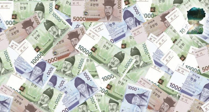 Süd-Koreanische Won