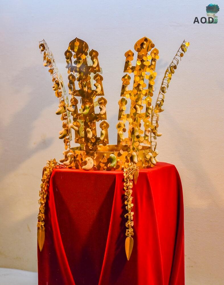 Goldkrone aus der Silla-Zeit