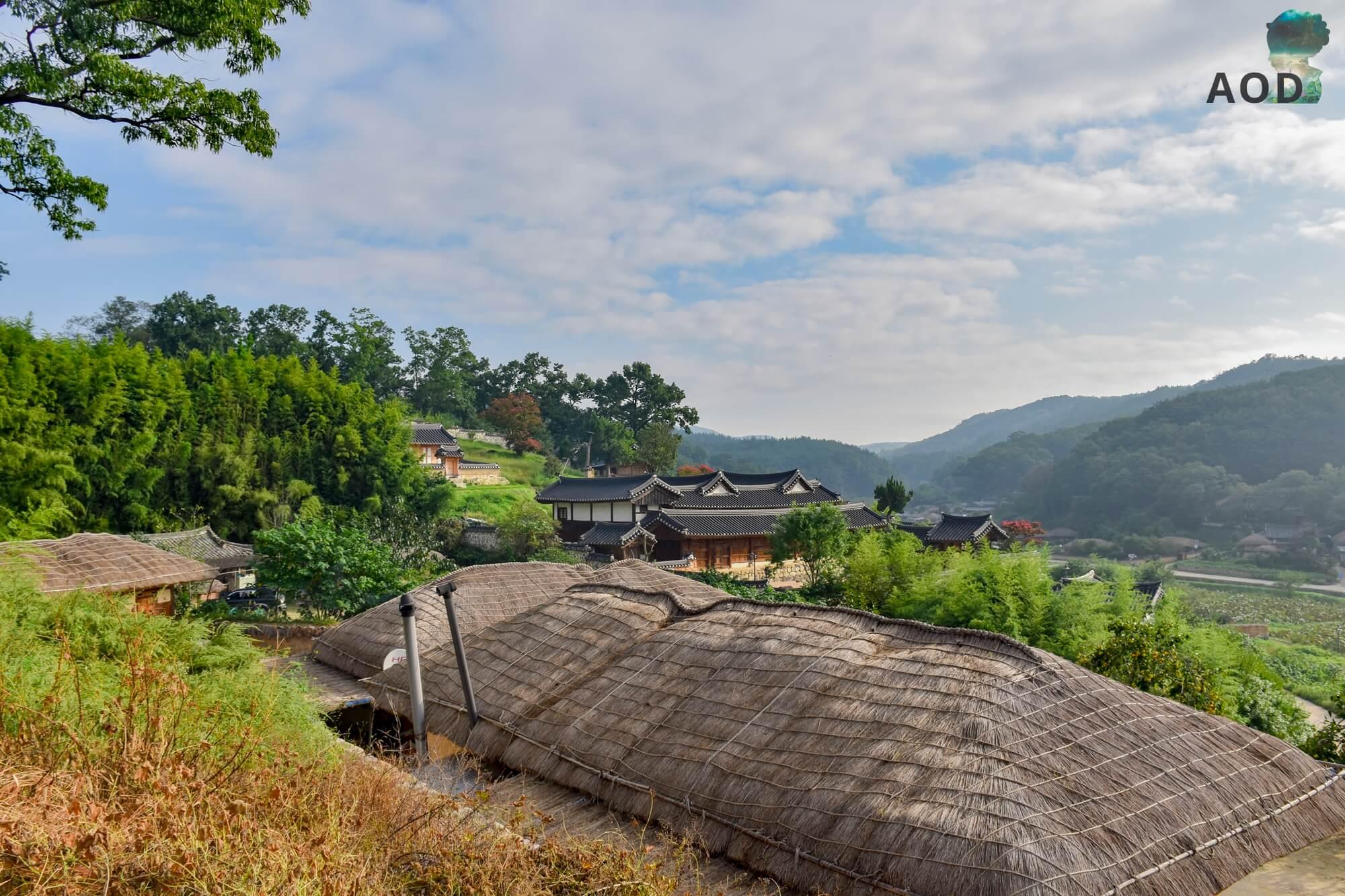 Yangdong Maeul  - Blick über die Dächer