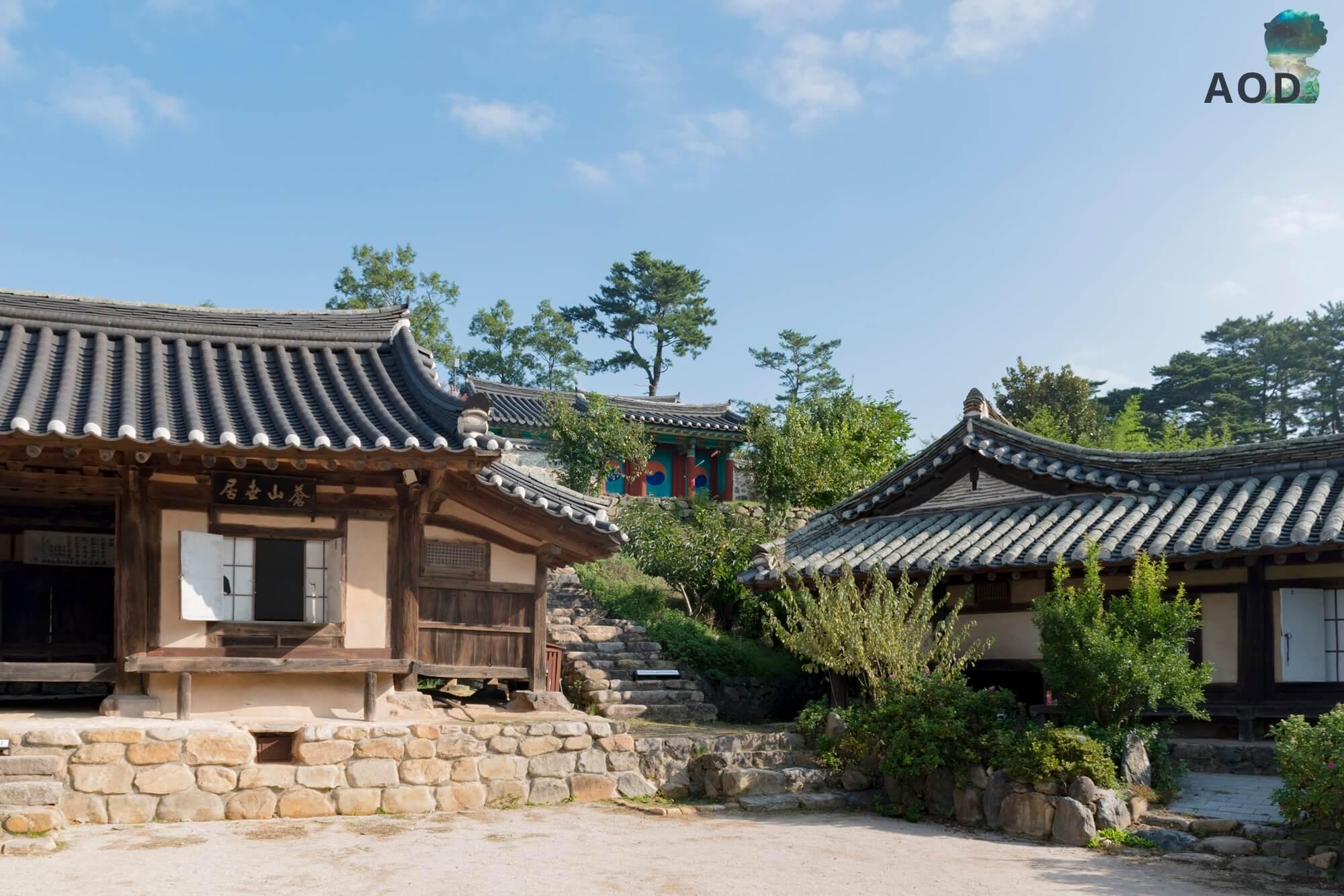 Yangdong Maeul - Anwesen mit einem Schrein