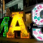 Weihnachten in Süd-Korea – ein Lichtermeer
