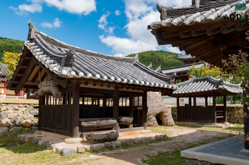 Traditionelles Shilla Gebäude