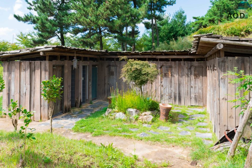 Toiletten im Park