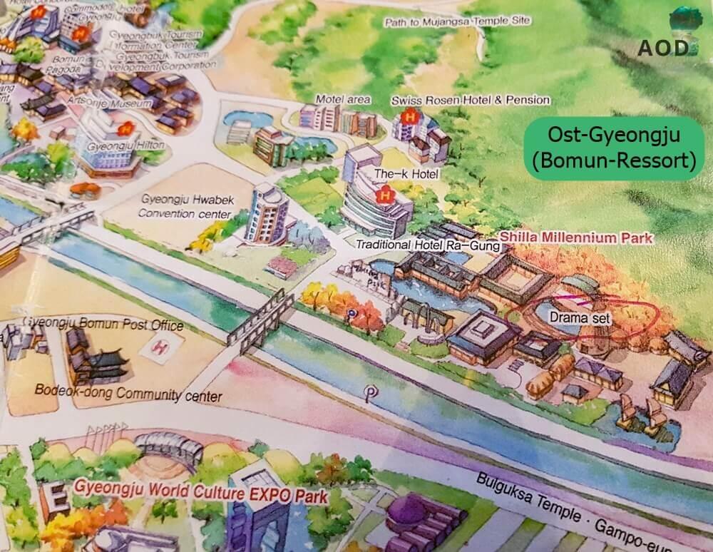 Shilla Millennium Park - Ost Gyeongju - Bomun Ressort