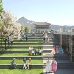 Gwanghwamun-Platz Seouls neue Oase 2021