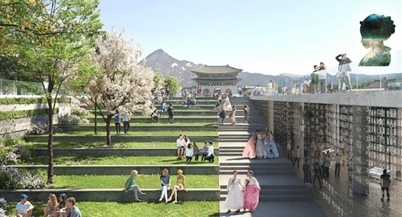 Gwanghwamun-Platz