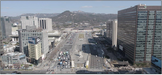 Gwanghwamun-Platz 2018