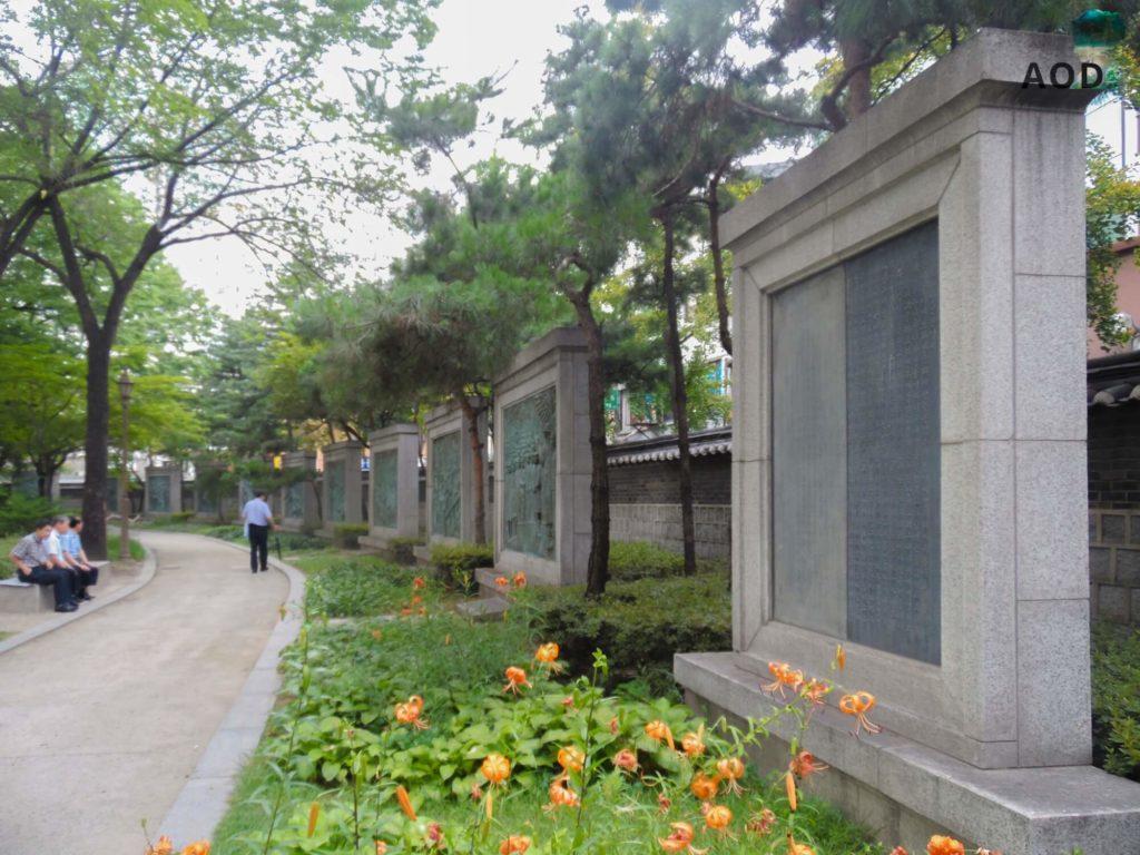Tag der Unabhängigkeitsbewegung in Korea - Tapgol Park