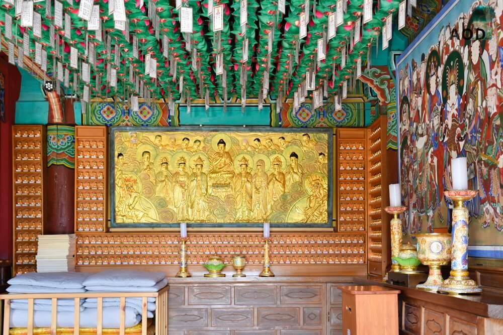 Im Inneres des Gebetshauses