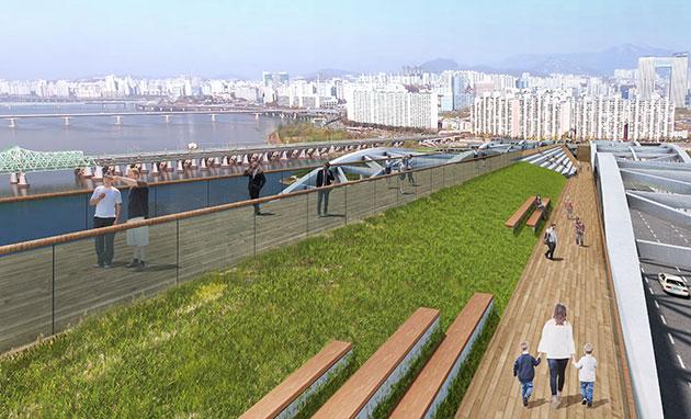Verschiedene Entwürfe zur Hangangdaegyo