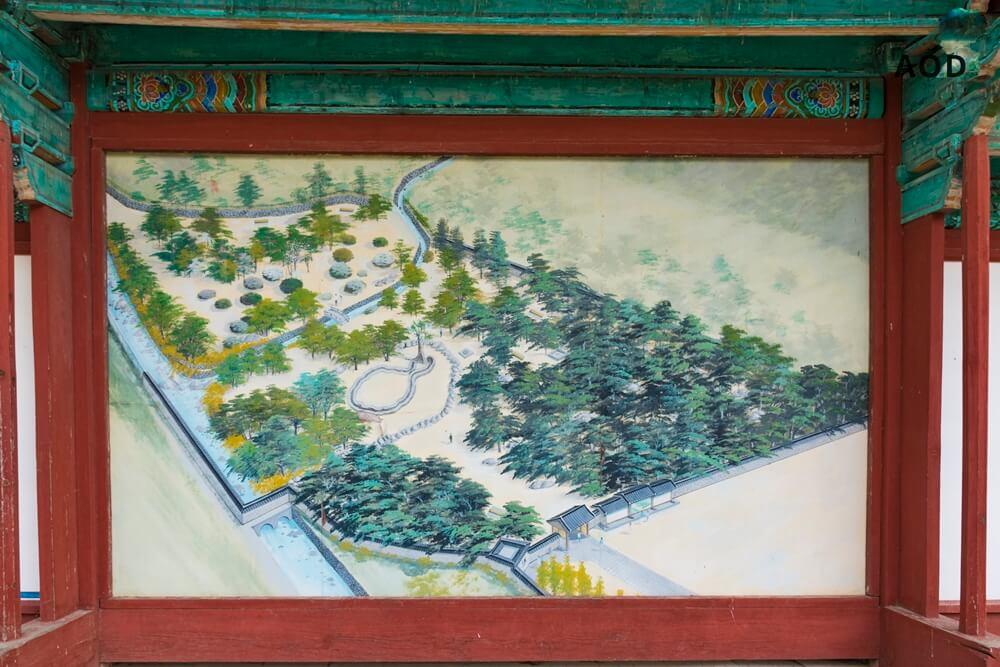 Karte zum Poseokjeong