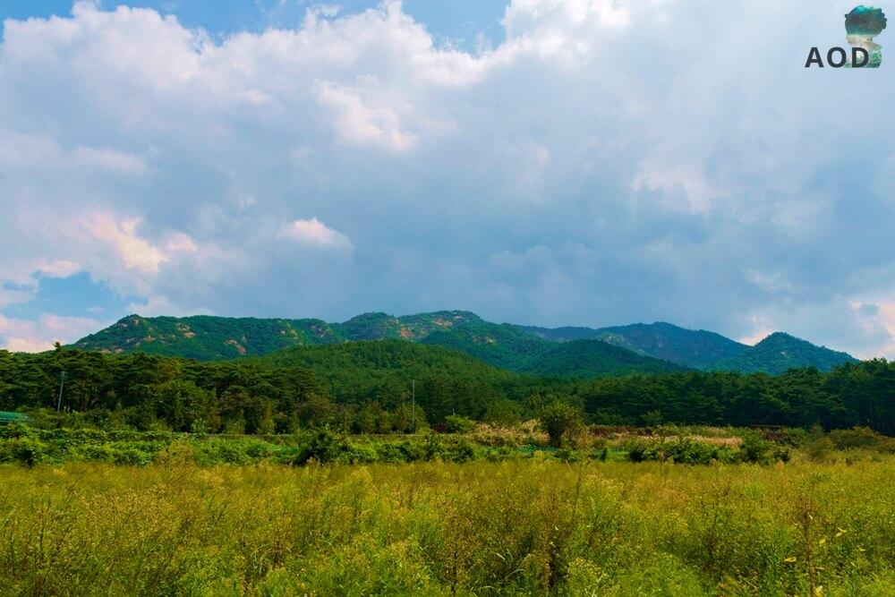 Namsan, Süden Gyeongjus