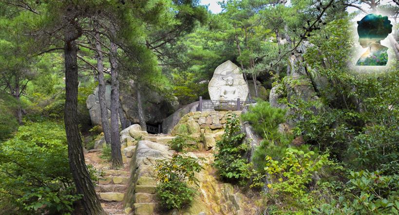 Namsan Buddha und Sagen