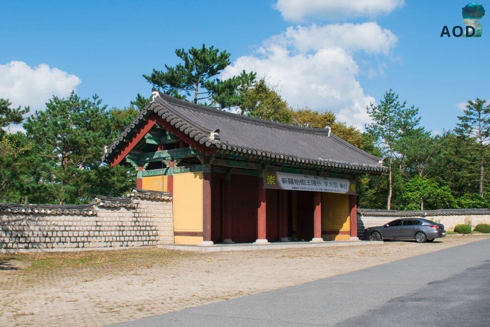 Eingangstor zum Oreung oder Oleung
