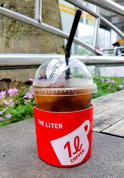 Kaffee in Korea - Streetcoffee im Coffeeshop in Seogwipo (Jejudo)