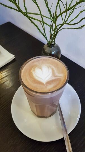 Kaffee vom Barista in Süd-Korea