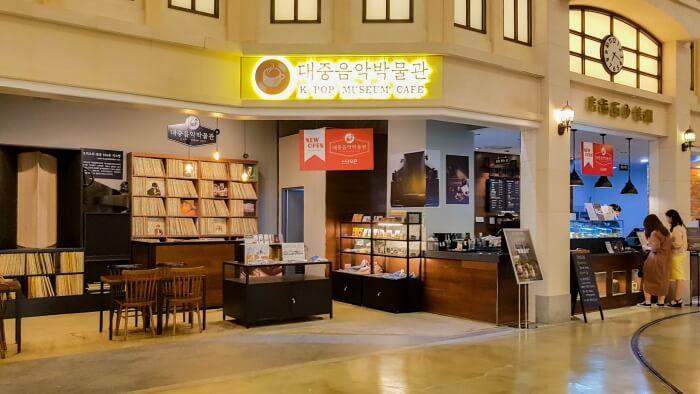 K-Pop Museum Café im Lotte World Mall (Jamsil)